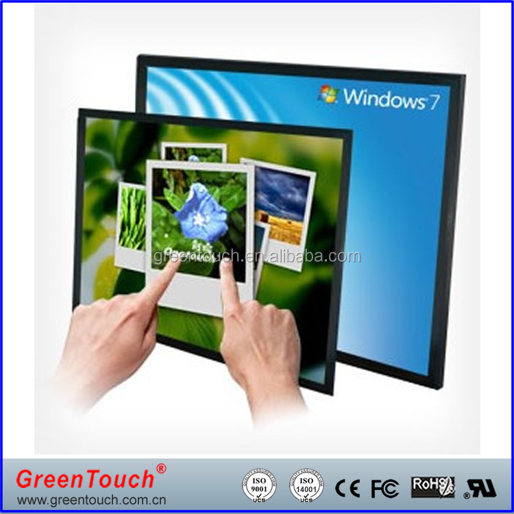 "15"" IR Infrared multi touch screen frame overlay for TV/PC Monitor/Tablet/Kiosk"