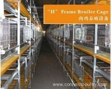 Broiler cage system for poultry farm equipment chicken farms