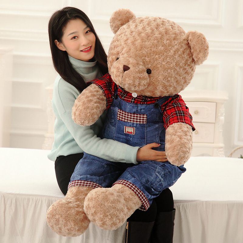 2017 newest design 60cm genuine quality Soft furry plush teddy bear toys