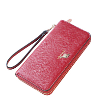 Wholesale pu leather wallet phone case, fashion young girls wallet
