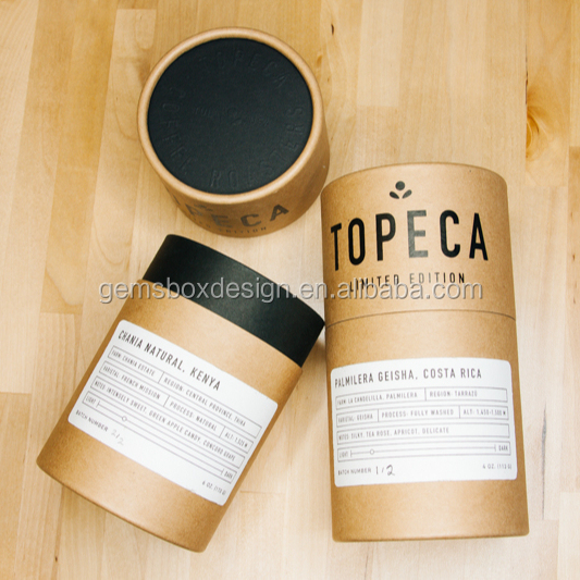 topeca coffee package kraft paper <strong>tube</strong>