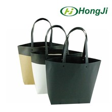 Cheap price gift paper bag black kraft paper bag