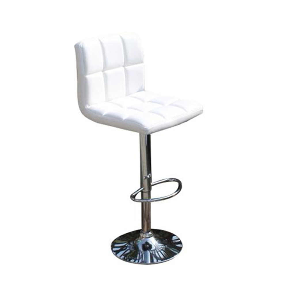 Retail Supplier Swivel Metal Frame Rubber Ring Led High Bar Stool
