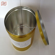 2.5kg 3pcs golden yellow common packing ink cans for offset ink