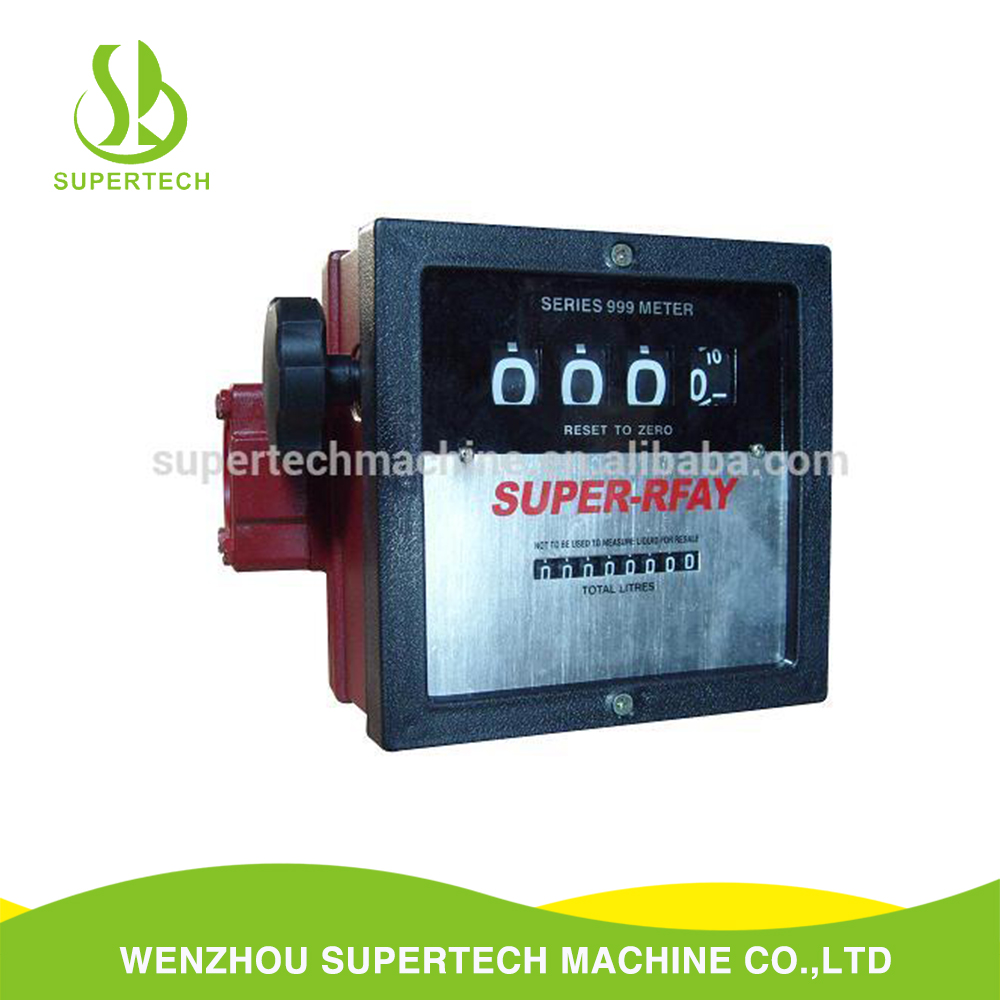 Wholesale diesel gasoline mineral spirits fuel mechanical flow meter