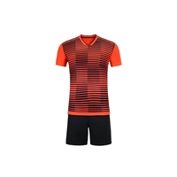 Wholesale high quality sublimated football jersey custom football sports soccer jersey