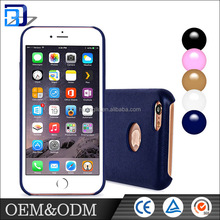 Factory wholesale mobile phone cover pu leather phone case for Iphone 6 / 6s plus case