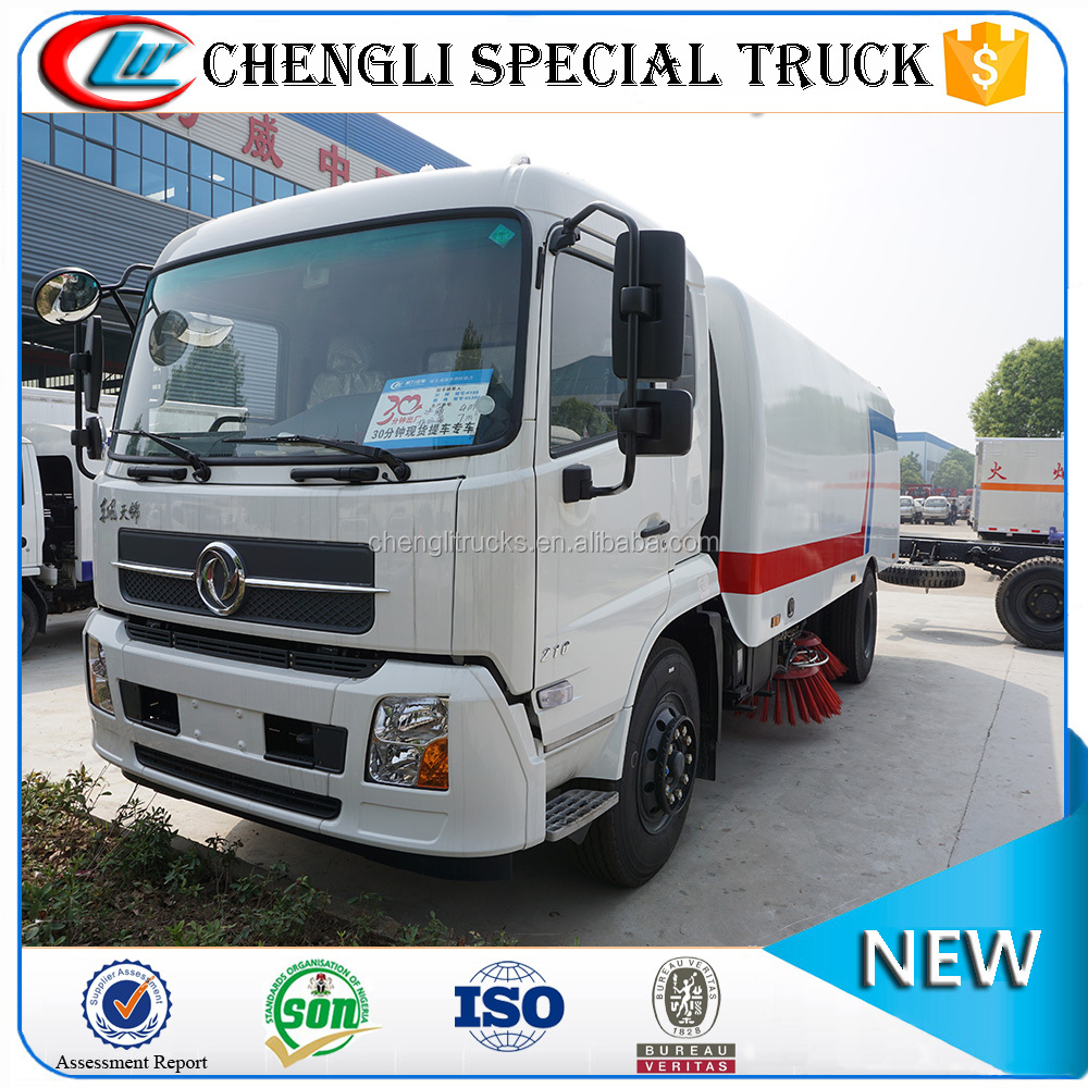 Good quality Dongfeng 4x2 Heavy Duty 10m3 Road Vacuum Cleaner Truck price cheap for sale