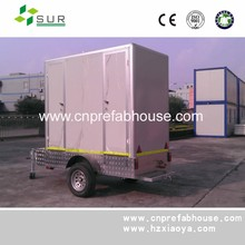 prefabricated camping villa home manufacturer trailer mobile house