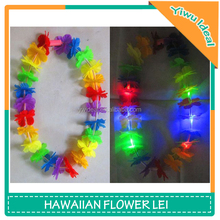 Rainbow Artificial Flower Light Up Hawaiian Leis