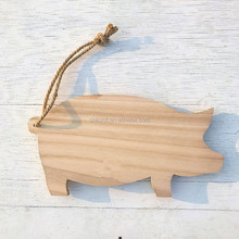 The shape of Pig paulownia wood board / Serving Board
