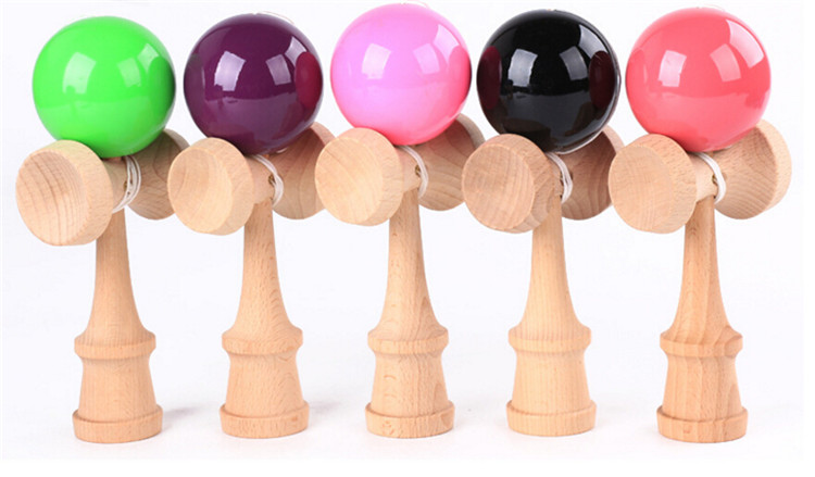 Promotion cheap kids toy wooden wholesale custom kendama
