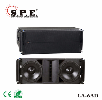 LA-6AD spe audio professional 600W powered dual 12 line array