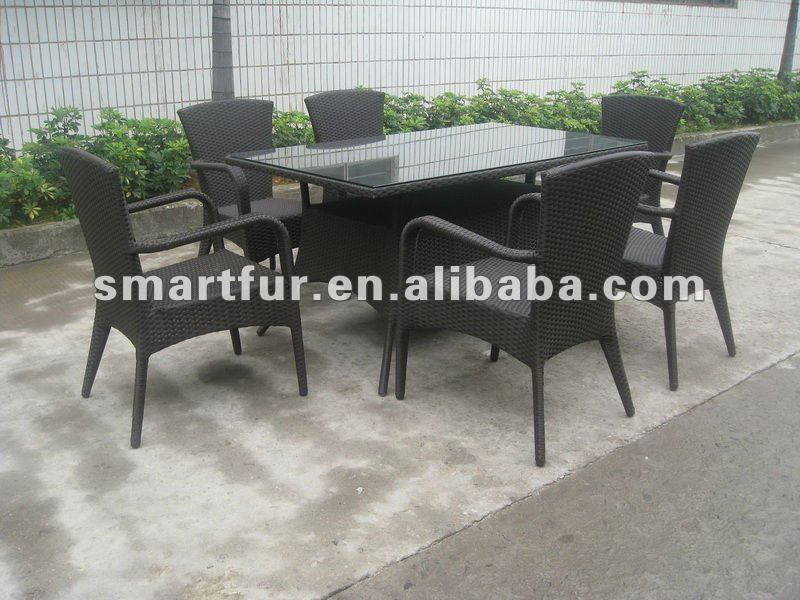 Wicker/ Rattan dining room furniture