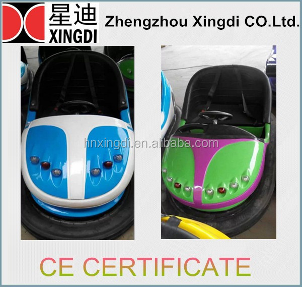 Various Colors Available Kids Electric Bumper Cars