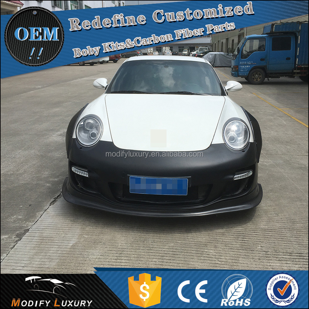 911 997 Turbo Front Bumper Body Kit for Porsche L Style