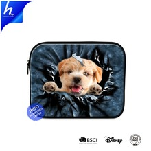 Animal Dog Cat 3D Printed Cute Laptop Sleeve 7 8 9 10 inch Tablet Case Holder