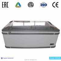 Energy-saving LED illumination chest freezer/fridge for day food