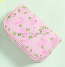 Hot New Products Waterproof Floral Beautiful Cosmetic Aluminium Makeup Case