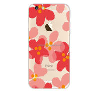 Sublimation Leather Phone Case for iPhone 5S with White Fabric for Printing
