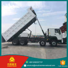 8X4 tipper truck Dual circuit compressed air brake sinotruk 6 wheels 5 ton mini dump truck