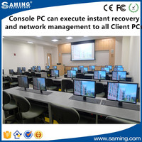 Console PC can execute instant recovery and network management to all Client PCs