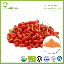 organic freeze dried goji berry extract