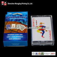 Custom PVC Plastic Playing Card, Waterproof Playing Cards Printing