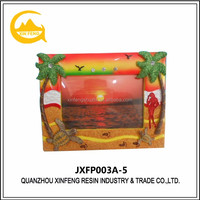 Desktop decoration polyresin photo picture frame