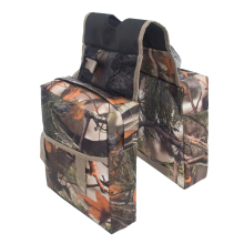 Durable Universal Camouflage ATV Tank Saddle bags Front Accessories Storage Pack