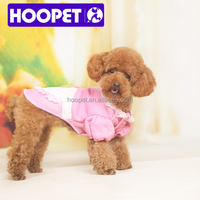 Sweet pink maid costumes for dog christmas dog t-shirt