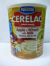 Cerelac baby food Apple and Wheat with Milk 400g