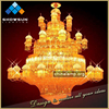 Guzhen sale high end quality hotel hall large project chandelier