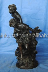 bronze children statue sculpture hot sale