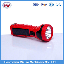 Longer working time cool led solar cycling flashlights torches