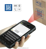 Cilico Android 2D barcode scanner and UHF RFID reader PDA phone with Quad-core,Dual-SIM,3g,wifi,BT,PSAM,Free SDK.