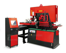 Q35Y 25 Hydraulic Punch And Shear/Angle Cutter Notching Machine Price/120Ton Universal Ironworker