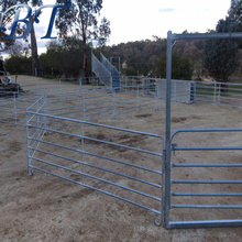 Heavy duty galvanized steel portable cattle sheep yard panels with gate Alibaba Manufacture