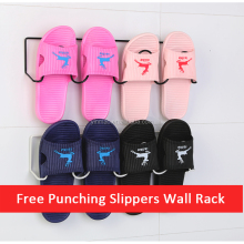 Free Punching, Slippers Wall Rack, Shoe hanger on the wall