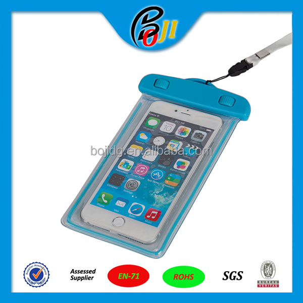 TPU Waterproof Bag Case Underwater Case IPX8 for iphone6/plus