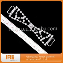 Crystal Rhinestone Bikini Connectors Chain for swimwear metal accessories