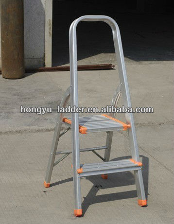 monkey ladder pass CE 2 step ladder with handrails