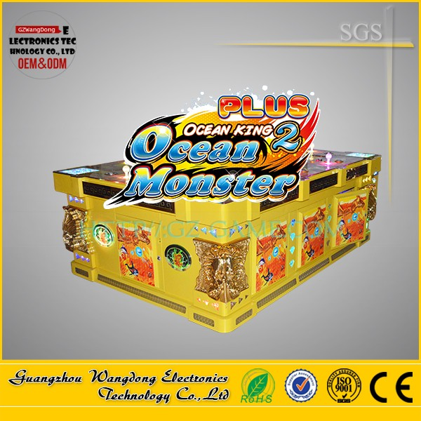 Wangdong ocean monster plus fishing game machine for touch screen computers