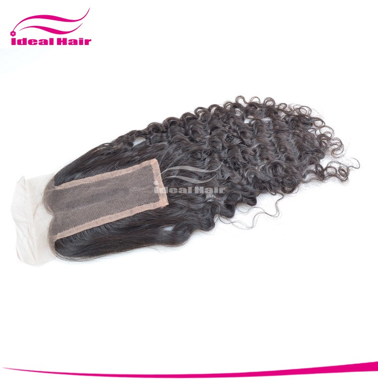 2014 new arrival hot sale loose wave grade 6A virgin free parting lace closure