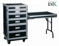 Heavy Duty Storage Drawer with Lip as tables for Mobile office