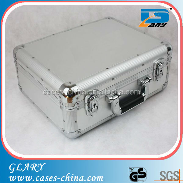 professional aluminum protective case with cut foam