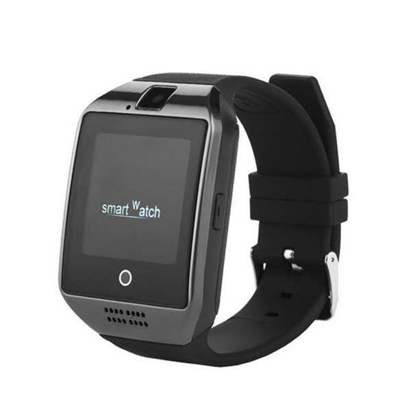 2016 hot sale bluetooth smartwatch phone Q18 smart watch with sim TF card facebook for android and ios