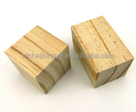 natural wood wooden cube