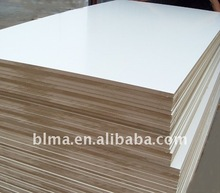 white Melamine Paper Coated MDF and mdf chile(1220*2440 2~25mm)