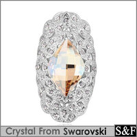 Crystal from swarovski ring fashion finger rings for women